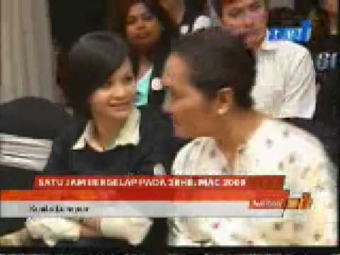 RTM 1 Earth Hour Launch - TV News Travel Video