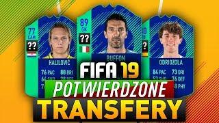 FIFA 19 | POTWIERDZONE TRANSFERY | Nowy klub Buffona!
