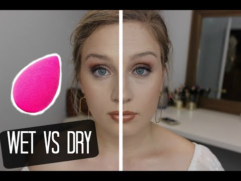 WET VS DRY BEAUTY BLENDER | Kendra Liz