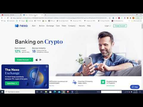 Download How to double your Bitcoin in 1 hour using the Nexo Platform and Nexo Token