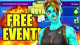 *NEW* ALL HALLOWEEN CHALLENGES & REWARDS! FORTNITE ALL FORTNITEMARES CHALLENGES!
