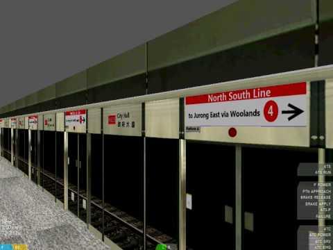 [openBVE] North South Line[Siemens...