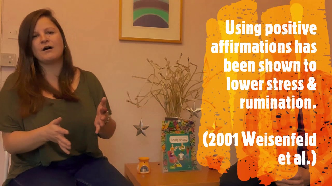 Cultivating Wellbeing - Affirmations