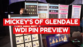 Gambar cover MICKEY'S OF GLENDALE (WDI) PIN PREVIEW! | Disney FairyTails