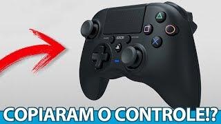 Controle de PS4 IGUAL ao Xbox One, Kratos e natação no NOVO God of War