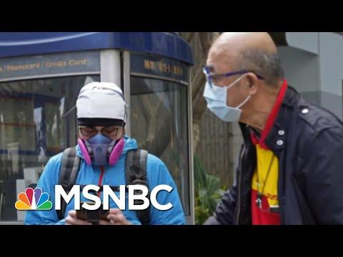 More Coronavirus Cases Reported In California | Katy Tur | MSNBC