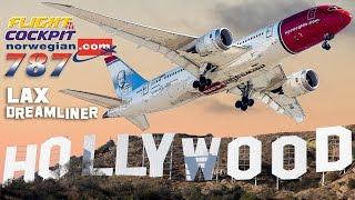Flightdeck NORWEGIAN 787 to Los Angeles