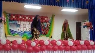 Индийский танец в школу