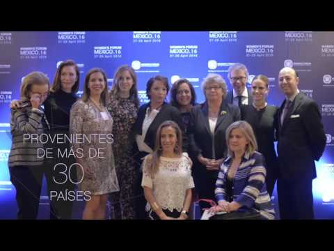 Women's Forum Mexico 2016 -  As broadcast at Cinepolis Theat