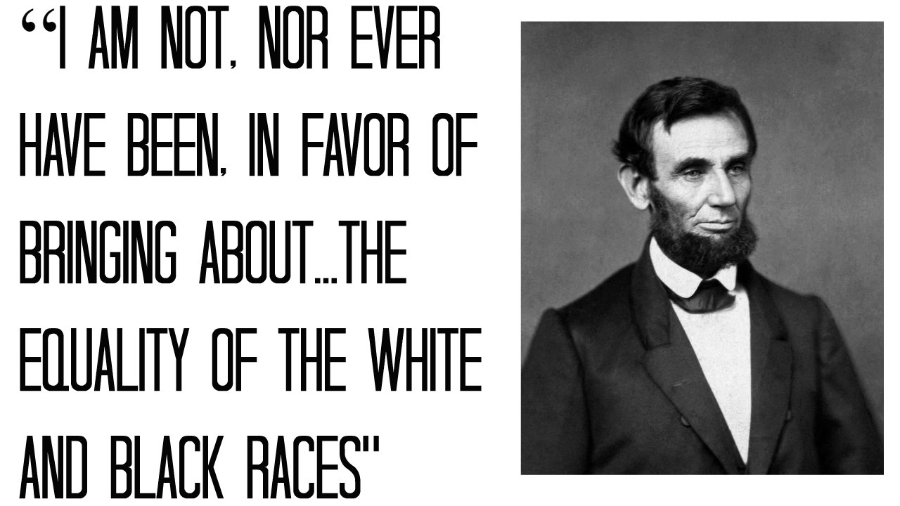 Lincoln Was Racist Too Confederate Flags And Texan
