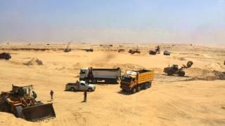 3000من أبناء القبائل العربية يشاركون فى حفر قناة السويس الجديدة