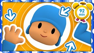🦶️ POCOYO in ENGLISH - The Human Body Parts [92 min] | Full Episodes | VIDEOS and CARTOONS for KIDS