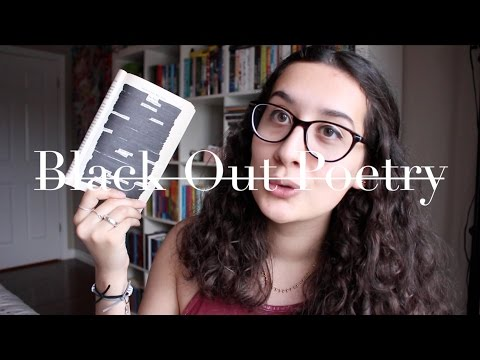 How To: Black Out Poetry