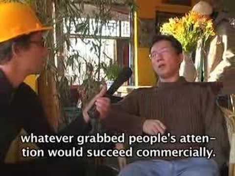 Beijing blogger Wang Xiaofeng sticks it to the man