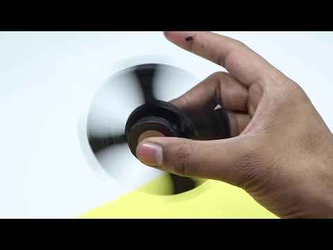 How to Make a Fidget Spinner with Waste Bottle Caps without Bearings (2 ways)