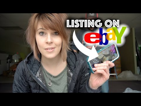 Listing on Ebay With JUST My Phone | How We Make Money Online | Reselling