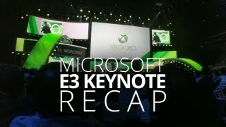 Halo 4, Smart Glass, Forza & More! E3 Keynote Recap - Microsoft