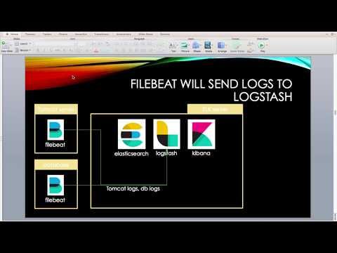 FileBeat, Logstash setup to transfer log to ELK - YouTube