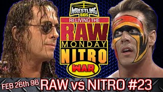 "Raw vs Nitro ""Reliving The War"": Episode 23 - Feb 26th 1996"