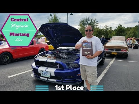 33rd Central Virginia Mustang Show!!