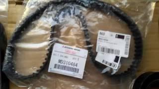 Замена ремня ГРМ Mitsubishi Pajero Sport 2013,какие надо запчасти и сколько!?