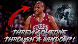 The Time Charles Barkley THREW A MAN THROUGH A WINDOW!