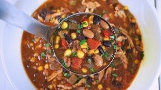 Slow Cooker Chicken Enchilada Soup Recipe | Episode 138