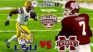 NCAA Football 18 | #12 LSU vs. Mississippi St. Gameplay!!! ESPN College Gameday! is Back!!!