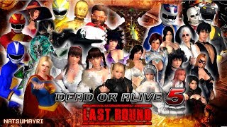 DEAD OR ALIVE 5 LAST ROUND - HALLOWEEN COSTUMES TRAILER