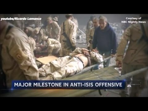 ISIS: Reporting From Mosul.. U.S. Soldiers Suffer Casualties Inside Mosul.. War On ISIS