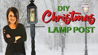 Wow! Diy Lamp Post: Farmhouse Decor On A Budget!