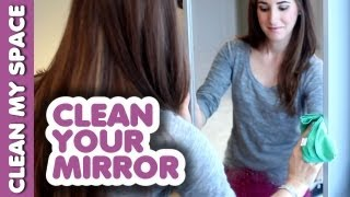 Mirror Cleaning Secret! How to Clean a Mirror Tutorial - Clean My Space