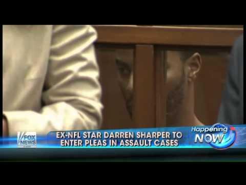 Ex NFL star Darren Sharper to enter pleas in assault case