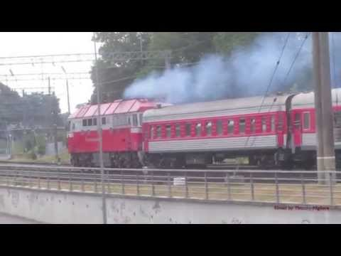 Trains in Lithuania - the Lithuanian Railroad - Поезда в Литве