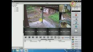 CARA SETTING CCTV ONLINE DVR G-LENZ YANG DI PANTAU LEWAT LAPTOP ATAU KOMPUTER DENGAN CMS .