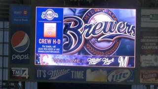 Brewers Game @ Miller Park (4-19-2013)