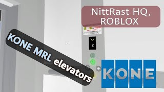 Ascensori KONE MRL - NittRast HeadQuarters, ROBLOX