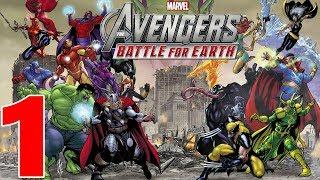 Marvel Avengers Battle For Earth Gameplay Walkthrough Part 1