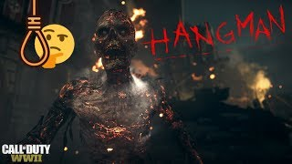 """WWII ZOMBIES - """"THE SHADOWED THRONE"""" HANGMAN TUTORIAL! UNLOCK TESLA GUN, RIPSAW & JACK IN THE BOXES!"""