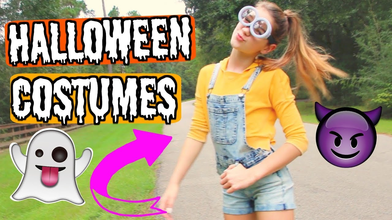 Halloween Costume ideas from your CLOSET!!