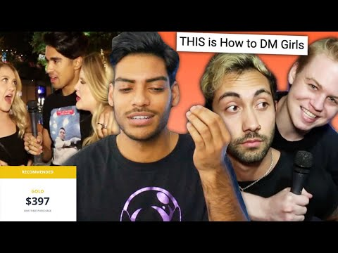 Learning How to DM Girls from Dating Coaches