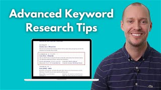 7 Advanced Keyword Research Tips for SEO (Works in 2021)