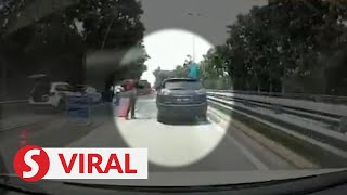 Fearing his brother more than the cops, driver runs from LDP roadblock