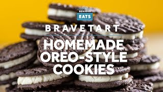 How to Make Homemade Oreo-Style Cookies