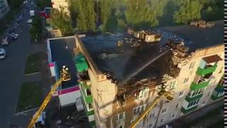 В Заинске из-за взрыва газа произошло обрушение жилого дома