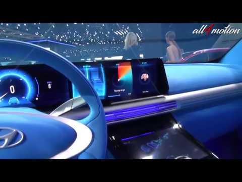 2018 hyundai fuel cell. simple hyundai 2018 hyundai fe fuel cell concept  geneva autoshow 2017 with hyundai fuel cell n