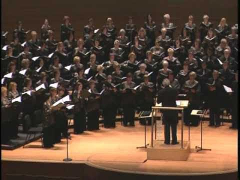 "Pacific Chorale performs Zachary Wadsworth's ""Fantasy on a Theme by William Billings"""