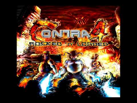 CONTRA 4 rocked 'n' loaded  - stage.1 - jungle  (metal version)