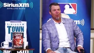 Chipper Jones on Mets Fans Wearing Yankees Jerseys // SiriusXM // MLB Network Radio