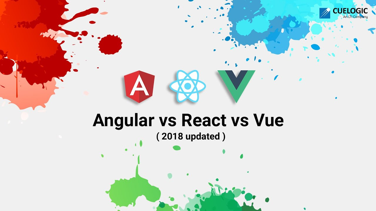 Angular vs  React vs  Vue: A 2018 Comparison (Updated)